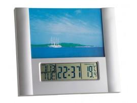Термометри - Електронен часовник с аларма и с фоторамка - 98.1093 на най-добра цена