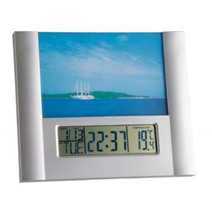 Електронен часовник с аларма и с фоторамка - 98.1093 на най-добра цена