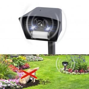Електронен уред за прогонване на кучета и котки със светлина, ултразвук и датчик за движение, GARDIGO на най-добра цена