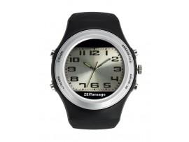 Часовници - Говорещ часовник с аналогов и цифров дисплей - 60.6000.01 на най-добра цена