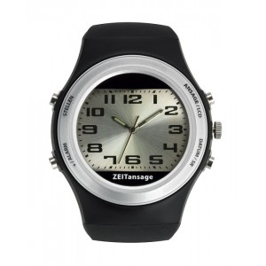 Говорещ часовник с аналогов и цифров дисплей - 60.6000.01 на най-добра цена