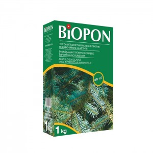 Гранулиран тор за иглолистните дървета и храсти срещу покафеняване на иглите 1 кг. за 40 кв. м. на най-добра цена