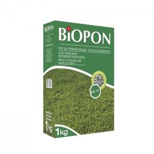 Гранулиран тор за тревна площ срещу бурени и храсти 1 кг. за 50 кв. м. на най-добра цена