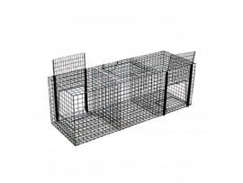 Борба с птици - Kапан за гарвани и врани 30x90x30 см с три отделения на най-добра цена