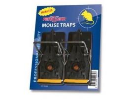 Капан за моментно убиване на мишки Pest Clear с примамка - комплект 2 бр.