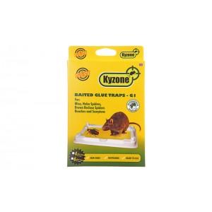 Лепливи 4 бр. плоскости G1 (за кутия БЕТА и тунел АЛФА) за мишки на най-добра цена