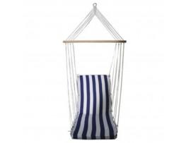 За градината - Люлка - хамак - стол 3 в 1, в 3 цвята - син, зелен, лилав на най-добра цена