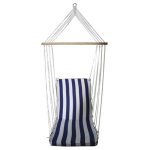 Люлка - хамак - стол 3 в 1, в 3 цвята - син, зелен, лилав на най-добра цена