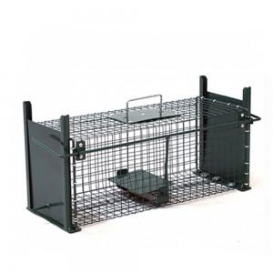 Метален капан за плъхове с 2 отвора - 50 см/18 см/18 см на най-добра цена