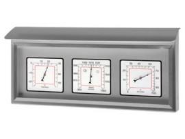 """Метеорологични станции - Метеорологична станция за външна употреба """"EDELSTAHL"""" - 20.2036 на най-добра цена"""
