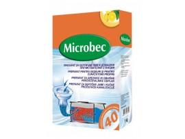 Микробец Препарат за почистване на септична яма или домашна пречиствателна станция  - 1 кг. с мерителна  лъжичка