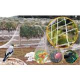 Мрежа защитна срещу птици (гълъби, косове, скорци и др.) - 6 м х 20 м