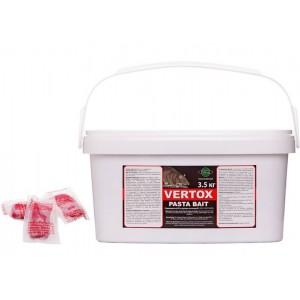 Отрова за мишки и плъхове Вертокс паста 3.5 кг на най-добра цена