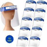 Професионален защитен шлем за лице - 12 бр.
