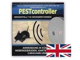 Електронни устройства прогонващи гризачи - Pest controller ултразвуков уред прогонващ мишки за 92 кв. м. - захранване с батерия 9V на най-добра цена