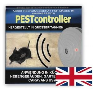 Pest controller ултразвуков уред прогонващ мишки за 92 кв. м. - захранване с батерия 9V на най-добра цена
