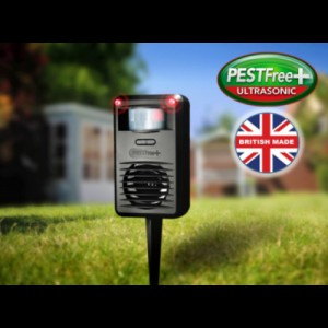 Pestfree+ ултразвуков уред прогонващ котки, лисици, порове, белки, невестулки, норки за 88 кв м на най-добра цена