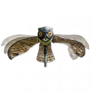 Плашило БУХАЛ с размах на крилете 110 см, прогонващо птици (Гълъби, Скорци, Врабчета, Пчелояди) и гризачи (мишки, плъхове, зайци, катерици) на най-добра цена