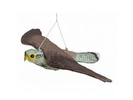 Птици - Плашило ЯСТРЕБ с размах на крилете 54 см, прогонващо птици (Гълъби, Скорци, Врабчета, Пчелояди) и гризачи (мишки, плъхове, зайци, катерици)  на най-добра цена