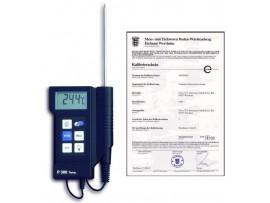 """Професионални термометри по HACCP - Професионален дигитален термометър """"Р-300"""" 31.1020.K – калибриран в Германия, по НАССР и EN 13485 на най-добра цена"""