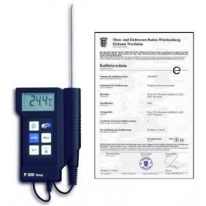"""Професионален дигитален термометър """"Р-300"""" 31.1020.K – калибриран в Германия, по НАССР и EN 13485 на най-добра цена"""