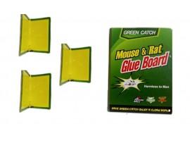 Капани и кутии - Комплект - 3 бр. капани с лепило за мишки  24/17 см.  на най-добра цена