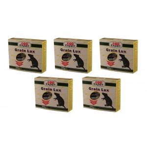Комплект - 5 бр. Отрова за мишки и плъхове зърно на най-добра цена