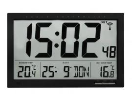 Часовници - Радио-управляем часовник с външна и вътрешна температура - 60.4510.01 на най-добра цена