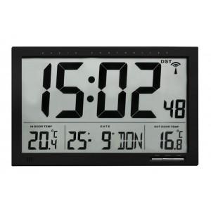 Радио-управляем часовник с външна и вътрешна температура - 60.4510.01 на най-добра цена