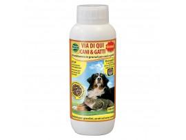 ТОП Продукти - Гранулат прогонващ нежелани кучета и котки - Mondo Verde - 1000 мл на най-добра цена