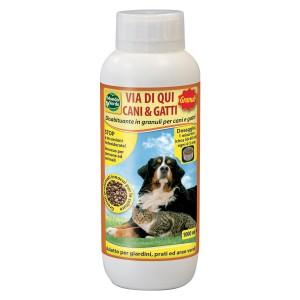 Гранулат прогонващ нежелани кучета и котки - Mondo Verde - 1000 мл на най-добра цена