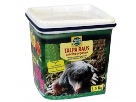 Къртици, Сляпо куче, Полевки - Продукт отблъскващ къртици, сляпо куче, полевки, полски мишки, попово прасе - TALPA RAUS - 3,500 кг. на най-добра цена