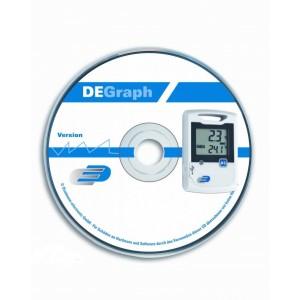 Софтуер за Дата логер 'De Graph' за LOG10, 20, 100, 110, 110EXF на най-добра цена