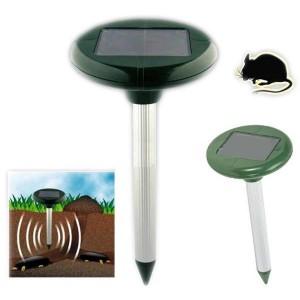 Соларен електронен уред за подземни гризачи (къртици, сляпо куче, полевки)  за 800 кв. м. на най-добра цена