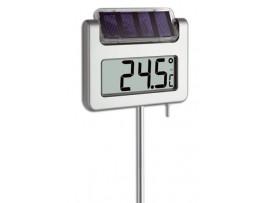 Термометри - Соларен цифров градински термометър  на най-добра цена