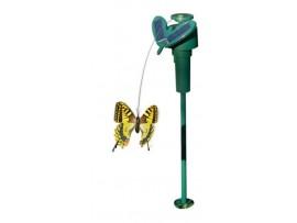 За градината - Соларна пеперуда за прогонване на МАЛКИ ПТИЧКИ и НАСЕКОМИ от Саксии, по балкони, тераси, градини, дворове на най-добра цена