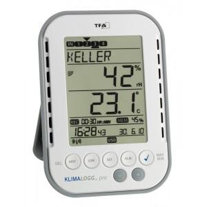 """Станция за отчитане на температура и влажност """"KLIMALOGG PRO"""" - 30.3039.IT на най-добра цена"""
