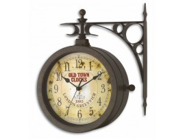"""Термометри - Стенен часовник и термометър """"Носталгия"""" - 60.3011 на най-добра цена"""