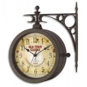 """Стенен часовник и термометър """"Носталгия"""" - 60.3011 на най-добра цена"""