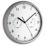 Стенен часовник с термометър и хигрометър - 98.1072