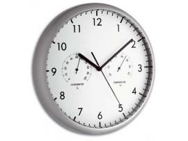 Хидромери - Стенен часовник с термометър и хигрометър - 98.1072 на най-добра цена
