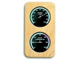 Термометри - Термометър - хигрометър за сауна - 40.1004 на най-добра цена