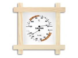 Термометри - Термометър - хигрометър за сауна - 40.1008 на най-добра цена