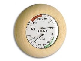 Термометри - Термометър - хигрометър за сауна - 40.1028 на най-добра цена