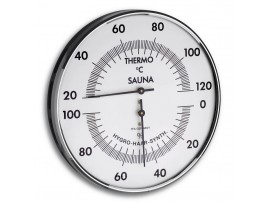 Термометри - Термометър - хигрометър за сауна - 40.1032 на най-добра цена