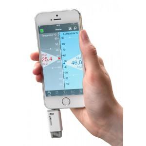 Термометър - хигрометър за Смартфон SMARTHY - 30.5035 на най-добра цена
