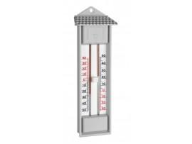 Термометри - Термометър с бутон за вътрешна или външна, максимална и минимална температура - 10.3014.14 на най-добра цена