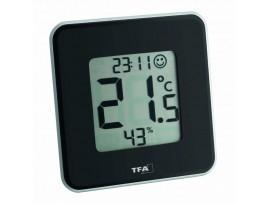 """Хидромери - Цифров термометър-хигрометър """"STYLE"""" - 30.5021.01 на най-добра цена"""