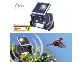 GARDIGO Германия - Ултразвуков соларен уред (Птицегон) прогонващ Врани, Лястовици, Врабчета и други малки птички. на най-добра цена
