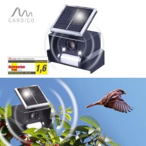 Ултразвуков соларен уред (Птицегон) прогонващ Врани, Лястовици и други малки птички. на най-добра цена